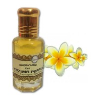 Frangipani Attar - Pure Natural Undiluted (Non-Alcoholic)