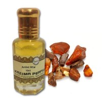 Amber Attar - Pure Natural Undiluted (Non-Alcoholic)