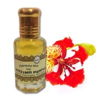 Gold Mohar Attar - Pure Natural Undiluted (Non-Alcoholic)