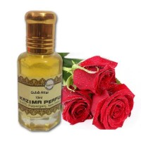 Gulab Attar Perfume - Pure Natural Undiluted (Non-Alcoholic)