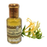 Honeysuckle Attar - Pure Natural Undiluted (Non-Alcoholic)