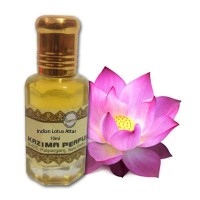 Indian Lotus Attar - Pure Natural Undiluted (Non-Alcoholic)