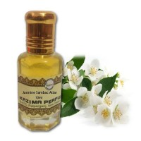 Jasmine Sambac Attar - Pure Natural Undiluted (Non-Alcoholic)