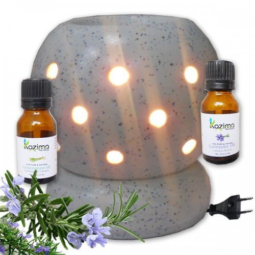 Ceramic electric aroma oil diffuser with free fragrance oill for Aroma indian cuisine coupon
