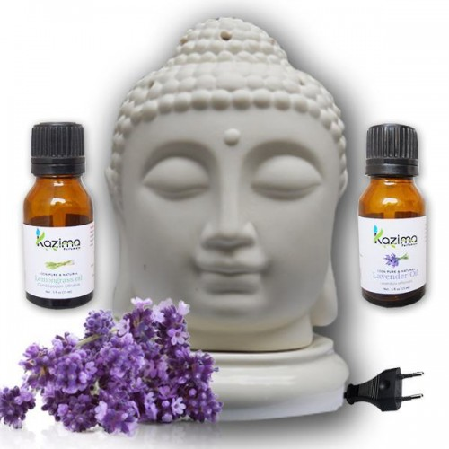 Ceramic electric aroma oil diffusers with free lavender for Aroma indian cuisine coupon