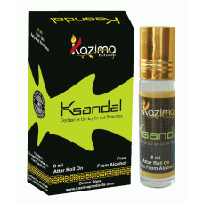 Sandal Apparel Concentrated Attar Perfume (8ml Rollon free From Alcohol)