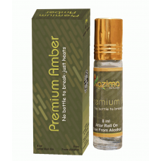 Premium Amber Rollon Attar Perfume 8ml - Apparel Concentrated (Free From Alcohol)