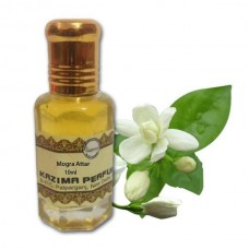 KAZIMA Mogra Attar Perfume For Unisex - Pure Natural Undiluted   (Non-Alcoholic)