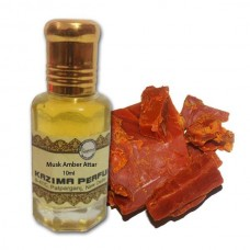Musk Amber Attar - Pure Natural Undiluted (Non-Alcoholic)