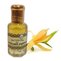 Nag Champa Attar - Pure Natural Undiluted (Non-Alcoholic)