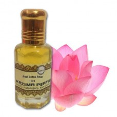Pink Lotus Attar - Pure Natural Undiluted (Non-Alcoholic)