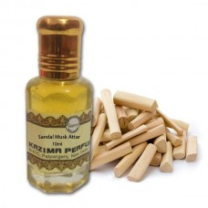 Sandal Musk Attar - Pure Natural Undiluted (Non-Alcoholic)