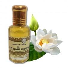 White Lotus Attar - Pure Natural Undiluted (Non-Alcoholic)
