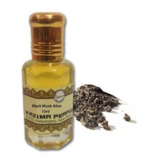 Black Musk Attar - Pure Natural Undiluted (Non-Alcoholic)