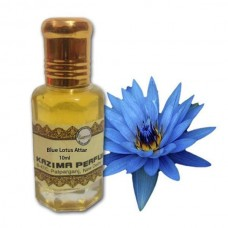 Blue Lotus Attar - Pure Natural Undiluted (Non-Alcoholic)